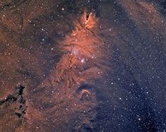 Cone nebula NGC2264 by swag72, via Flickr