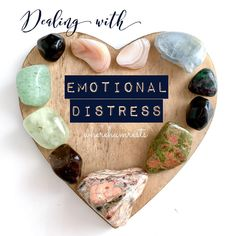 Dealing with emotional distress, healing of the heart, and even recovering from a traumatic experience, is something that we all have to deal with at time in our life 💗And although these times can be tough and painful, healing crystals provide us with gentle support during these times and assist with healing in these areas. 🙏🙌✨Some of my favourite crystals that you can use to assist with healing and energetic, emotional and spiritual support when dealing with emotional distress and… Healing Crystals, Spirituality, Stones, My Favorite Things, Heart, Life, Instagram, Rocks, Healing Stones