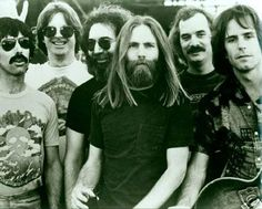 The Grateful Dead members : Jerry Garcia, Bob Francisco, Phil Lesh and Bill Kruetzmann, more members were added later.
