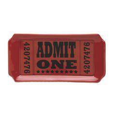Admit One tray