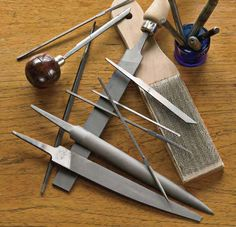 Learn everything you need to know about jewelry cutting tools including jeweler's saws, files, stamps and more.