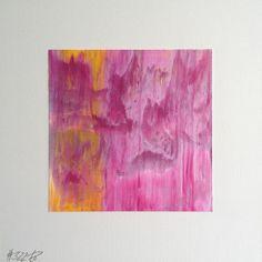 #322 | square abstract painting (original) | acrylic on white board | size 9 cm x 9 cm | boardsize 15 cm x 15 cm | https://www.etsy.com/shop/quadrART