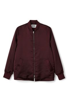 Add that va-va-voom to your outfit with this dashing feather jacket. Brown Bomber Jacket, Flight Bomber Jacket, Satin Bomber Jacket, Padded Jacket, Vest Jacket, Bomber Jackets, Outerwear Jackets, Shop Jackets, Jacket Style