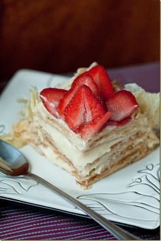 Napoleon cake.
