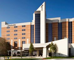 Methodist Charlton Medical Center, full-service hospital serving southern Dallas county, new patient bed tower expansion completed in fall 2009