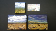 My foray onto small canvas; inspired by the 'daily painting' movement and the beauty of Interlake landscapes. www.gaylehalliwell.com