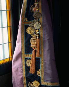 Chinoiserie tassel silk curtain Declercq Passementiers / Graf, Paris