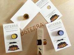 doTERRA Essential Oils Sample Dram Business Card File
