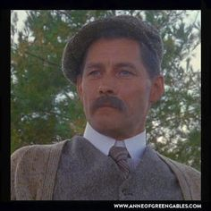 """""""The apple doesn't fall far from the tree, does it?  Good-day Marilla. """" - John Blythe (Anne 2 Pt 1)"""