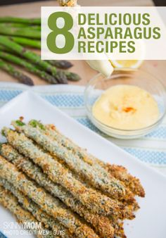 If you like asparagus, you will love these healthy recipes!