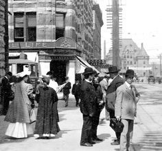 Granville and Pender streets, Source: Photo by Philip Timms (cropped), City of Vancouver Archives Past Life, The Good Old Days, Back In The Day, British Columbia, West Coast, Vancouver, Street View, History, City