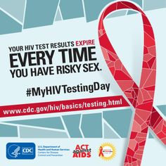 "To find an HIV testing site near you, text your ZIP code to ""KNOW IT"" (566948) or search online at http://hivtest.cdc.gov. #MyHIVTestingDay"