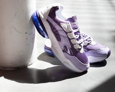 "f414a64e56f WSS 👟 on Instagram  ""🚨JUST IN🚨  puma Cell Venom in Sweet Lavender Indigo  is available NOW at our select stores. Check out this sweet color 💜 at our  ..."