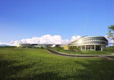 https://www.facebook.com/thehienkientrucdotcom Tòa nhà chính phủ PAT COMPLEX II (LNST) - SEJONG , HÀN QUỐC (KTS H-ASSOCIATES)