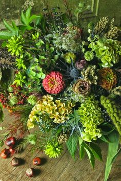 Beautiful fall bouquet with cockscomb and zinnias. Green Flowers, Love Flowers, Beautiful Flowers, Wedding Flowers, Fall Bouquets, Zinnias, Flower Decorations, Flower Designs, Planting Flowers