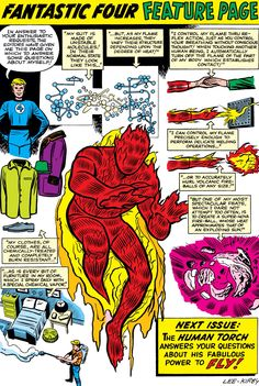 Fantastic Four Pin Up Feature page. Art by Jack Kirby. Marvel Comic Universe, Comics Universe, Marvel Vs, Marvel Heroes, Comic Book Artists, Comic Artist, Comic Books Art, Mister Fantastic, Fantastic Four