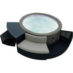outdoor hot tub google search - Wayfair Hot Tub