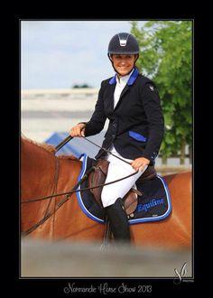 Caroline Lafond, à Normandie Horse Show, Saint Lo.