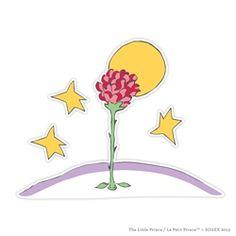 La rose du Petit Prince Special Edition Wall Graphics