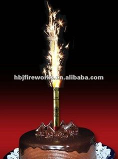 ice fountains champagne sparkler dessert sparklers ice on birthday cake fountain candles