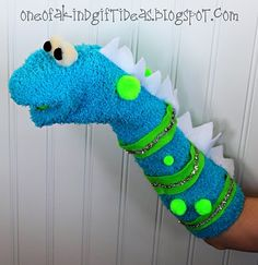 how to make a sock puppet instructions