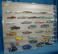 Man cave car display wall