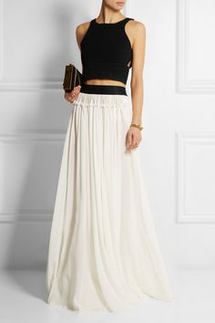 Faith Connexion | Net-A-Porter. it's like a lengha, but super sleek and simple