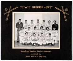 Topeka Mosby-Macks, 1951. The team finished second in the state American Legion tournament played in Russell. The roster included future major leaguer Jim Golden (middle row, second from right). Three others would play in the minor leagues, including Tom Sleeper, Don Luttrell, and Ted Worthington. For player IDs, follow the Kansas Memory link. (SCBHOF/KHS; courtesy of Ted Worthington)