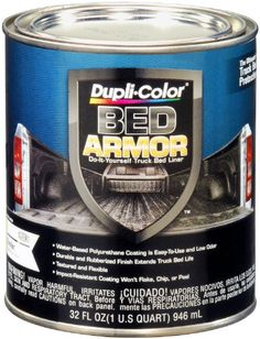 Dupli-Color Bed Armor Truck Bed Liner is a water-based rubberized polyurethane coating. It is ideal for protecting truck beds and...