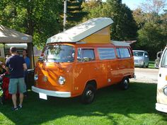 I would love to have a van camper someday...