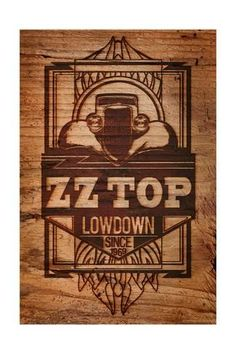 Metal Band Logos, Fathers Day Poster, Rock Band Posters, Zz Top, Greatest Rock Bands, Rock Legends, Blues Rock, Find Art, Framed Artwork