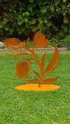 Metallblume Yard Art, Plants, Projects, Flowers, Garden Art, Plant, Planets