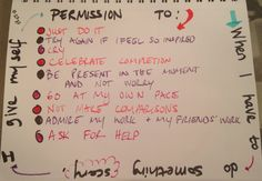 brene brown permission slips | Brene Brown taught me that writing myself a permission slip can be a ...