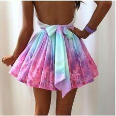 Cute tie dye dress