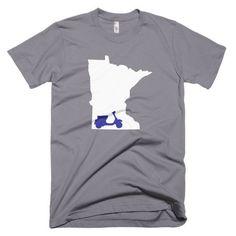 Moped Minnesota [short sleeve men's t-shirt]