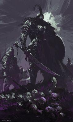 War Reaper by artist Wenjun Lin.