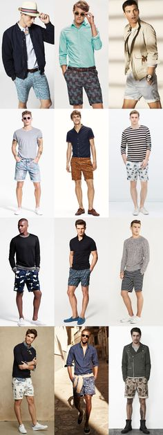 6 Statement Menswear Pieces for Spring/Summer 2015: 2. Men's Printed and Patterned Shorts Lookbook Inspiration