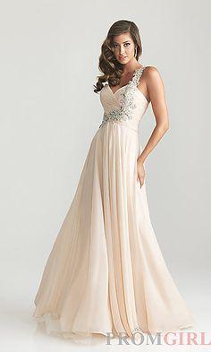 Night Moves One Shoulder Prom Dress 6679 at PromGirl.com#prom#dress#promdress