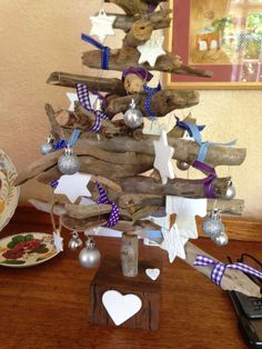 Love this natural Christmas tree made by a wonderful South African artist