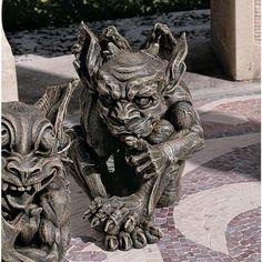 Design Toscano The Gothic Gargoyle Sculpture - Whisper - CL3693