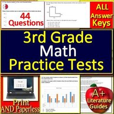 3rd Grade Nwea Map Reading Test Prep Practice Test Language Arts Ela