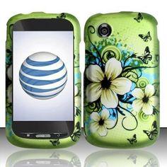 For ZTE Merit Z990g Rubberized HARD Case Snap on Phone Cover Hawaiian Flower - USD $ 41.07