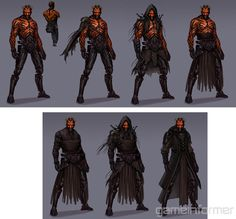 Art From The Darth Maul Game You'll Never Get To Play - Features - www.GameInformer.com