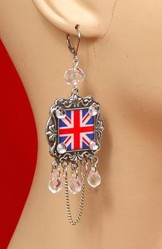 Union Jack Earrings