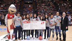 Olimpia Milano e NBA 2K16 portano il basket a scuola: premiato l'istituto Falcone Righi