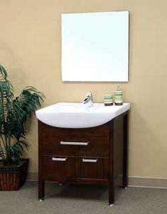 """30"""" Bellaterra Home Bathroom Vanity 203151A #BathroomRemodel #BlondyBathHome #BathroomVanity  #ModernVanity"""