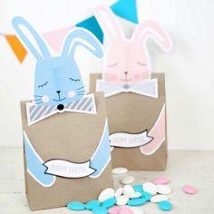 Printable Bunny Easter Bags
