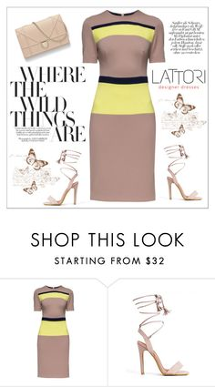 """LATTORI dress"" by water-polo ❤ liked on Polyvore featuring Lattori, polyvoreeditorial and lattori"