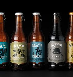 Mac's-love the caps.  #craftbeer #beer  http://hopsaboutbeer.com/