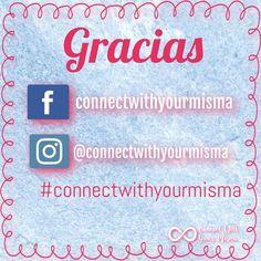 Gracias a todos los que conectan día a día! Ayúdanos a crecer y comparte nuestro contenido con otros. #connectwithyourmisma